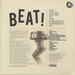 Karminsky Experience Inc. / Beat! back