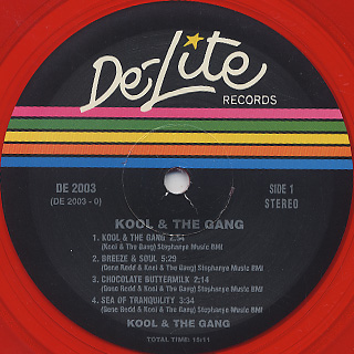 Kool and The Gang / S.T. label