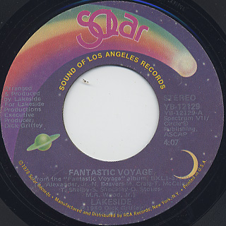 Lakeside / Fantastic Voyage (45) front