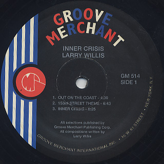 Larry Willis / Inner Crisis label