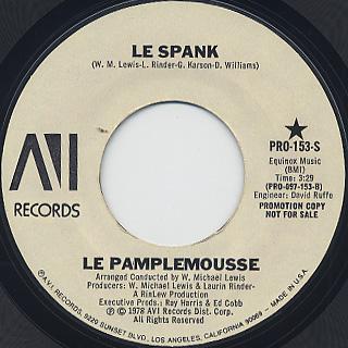 Le Pamplemousse / Le Spank (45) back