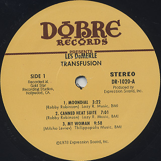 Les DeMerle / Transfusion label