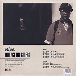 Lewis Parker / Release The Stress back
