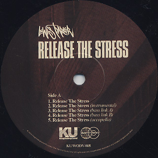Lewis Parker / Release The Stress label
