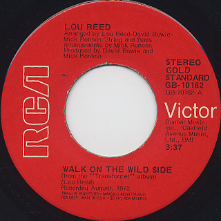 Lou Reed / Walk On The Wild Side (7