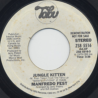 Manfredo Fest / Jungle Kitten