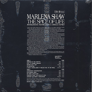 Marlena Shaw / The Spice Of Life back