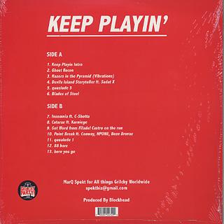 Marq Spekt & Blockhead / Keep Playin' back
