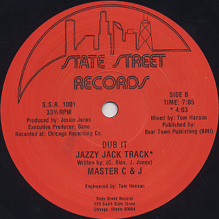 Master C & J / Face It back