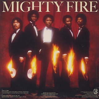 Mighty Fire / No Time For Masquerading back
