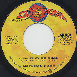 Natural Four / Can This Be Real c/w Try Love Again