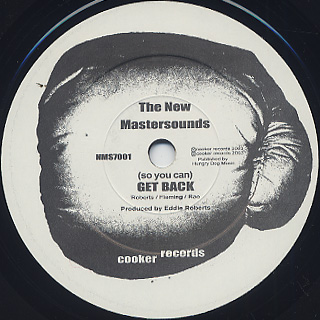 New Mastersounds / (So You Can) Get Back c/w Can't Hold Me Down