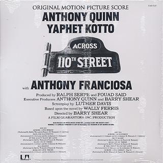 O.S.T.(Bobby Womack) / Across 110th Street back