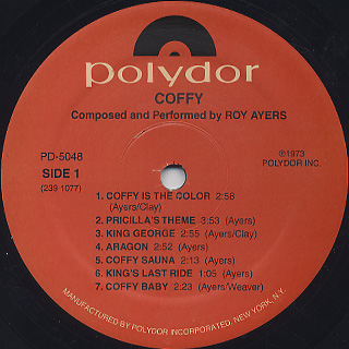 O.S.T.(Roy Ayers) / Coffy label