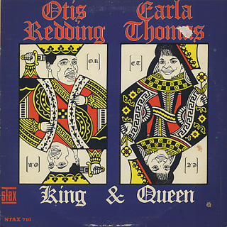 Otis Redding, Carla Thomas / King & Queen front