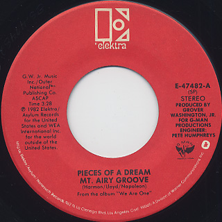Pieces Of A Dream / Mt. Airy Groove c/w Please Don't Do This To Me