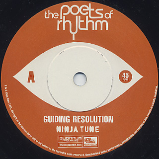 Poets Of Rhythm / Guiding Resolution label