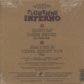 Quantic presenta Flowering Inferno / Shuffle them Shoes back