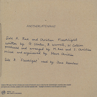 Rae & Christian / Flashlight(Anotherlatenight) back