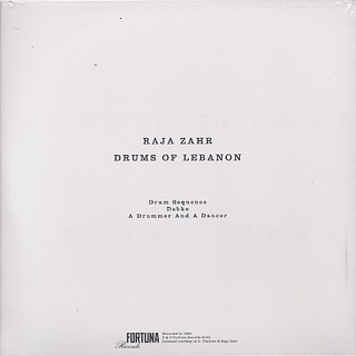 Raja Zahr / Drums Of Lebanon back