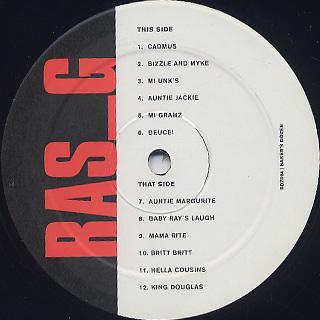 Ras G / Baker's Dozen label