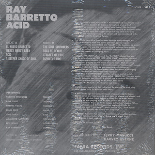 Ray Barretto / Acid back