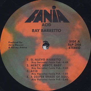 Ray Barretto / Acid label