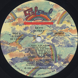 Skyy / Skyway label