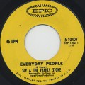 Sly And Family Stone / Everyday People c/w Sing A Simple Song (VG+)