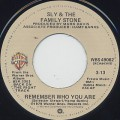 Sly and The Family Stone / Remember Who You Are