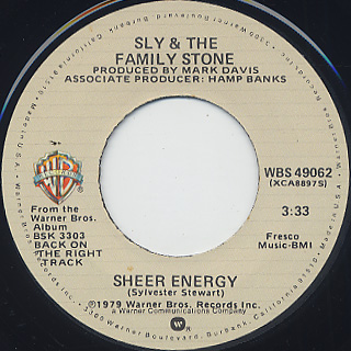 Sly and The Family Stone / Remember Who You Are back