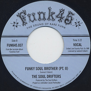 Soul Drifters / Funky Soul Brother back