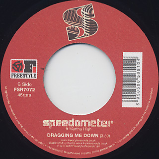 Speedometer / The Shakedown (Say Yeah) back