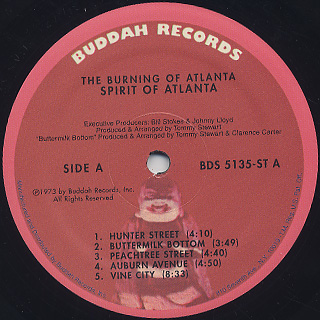 Spirit Of Atlanta / The Burning Of Atlanta label