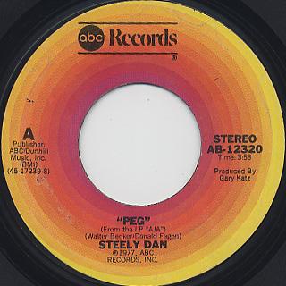Steely Dan / Peg c/w I Got The News