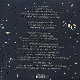 Sun Ra / Singles (3LP) back