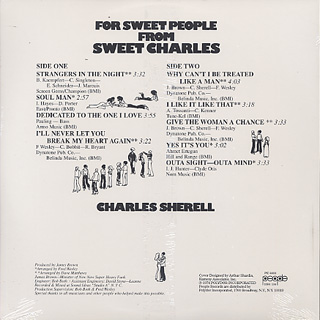 Sweet Charles / For Sweet People back