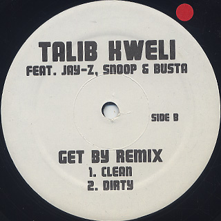 Talib Kweli / Get By (Blackbeard Remixes) back