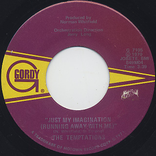 Temptations / Just My Imagination (Running Away With Me)