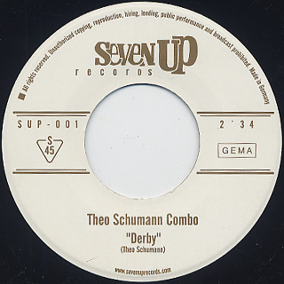 Theo Schumann / Totila c/w Derby label