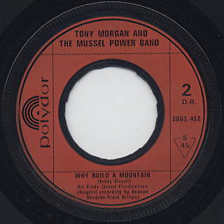 Tony Morgan And The Mussel Power Band / Black Skin Blue Eyed Boys back