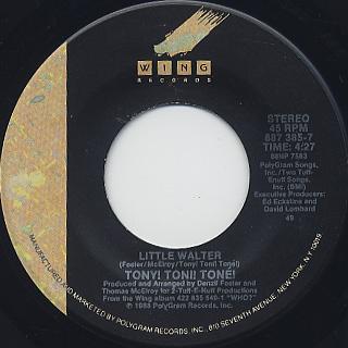 Tony! Toni! Tone! / Little Walter label