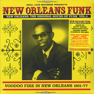 V.A. / New Orleans Funk Vol.4 (Voodoo Fire In New Orleans 1951-77)