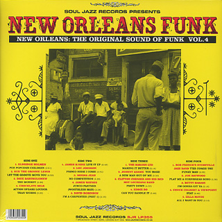 V.A. / New Orleans Funk Vol.4 (Voodoo Fire In New Orleans 1951-77) back