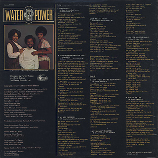 Water & Power / S.T. back