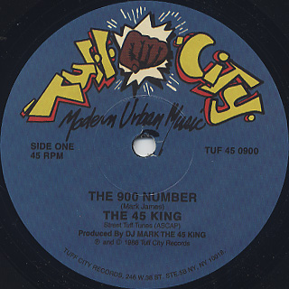45 King / The 900 Number back