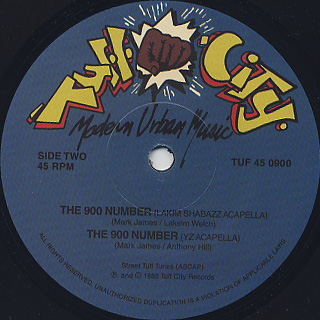 45 King / The 900 Number label