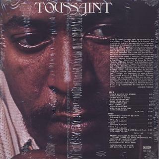 Allen Toussaint / Toussaint back