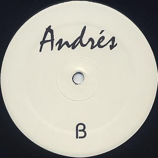Andrés / Untitled back