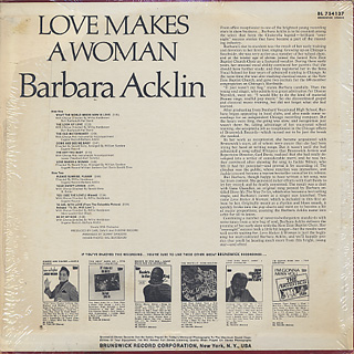 Barbara Acklin / Love Makes A Woman back